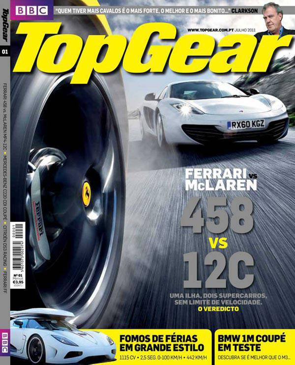 Top Gear Portugal maiden issue