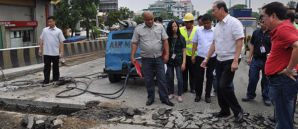 TopGear.com.ph Philippine Car News - DPWH orders Buendia flyover contractor to re-do asphalt overlay