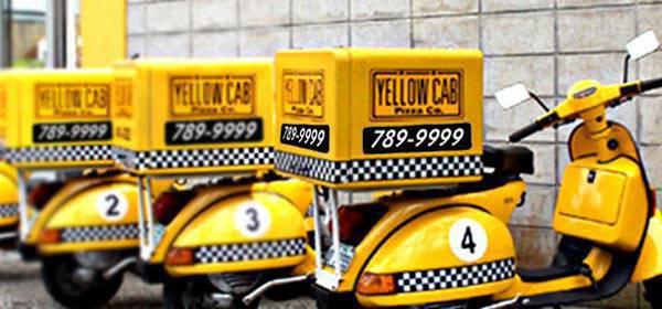 Yellow Cab Vesparade