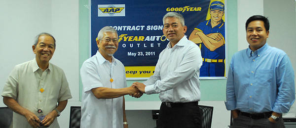 TopGear.com.ph Philippine Car News - Goodyear teams up with AAP to establish a Goodyear Autocare store