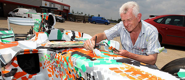 TopGear.com.ph Philippine Car News - Force India gives its F1 car the Art Car treatment