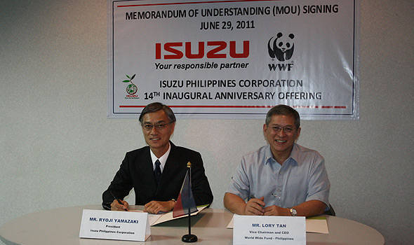 TopGear.com.ph Philippine Car News - Isuzu partners with WWF to celebrate its 14th anniversary