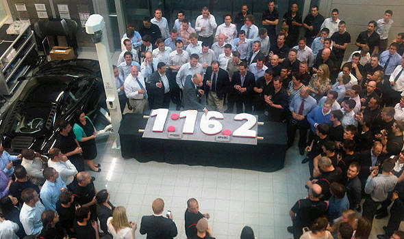 TopGear.com.ph Philippine Car News - McLaren celebrates MP4-12C as second fastest car around the Top Gear test track