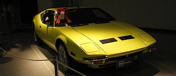TopGear.com.ph Philippine Car News - De Tomaso to unveil all-new Pantera at Frankfurt Motor Show – report