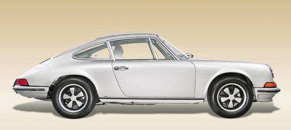 Restored 1973 Porsche 911 T Coupe
