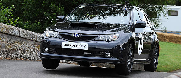 TopGear.com.ph Philippine Car News - Cosworth-tuned Impreza STI beats high-performance cars at Cholmondeley Pageant of Power