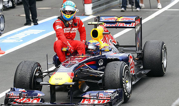 TopGear.com.ph Philippine Car News - Formula 1 cars to run on electric power while in the pit lane by 2014