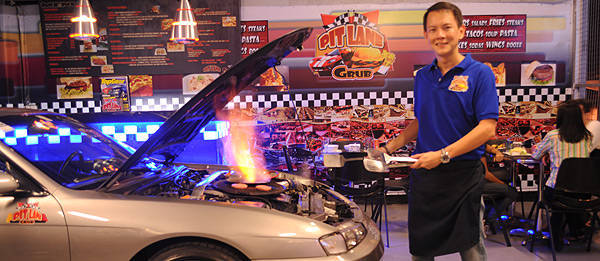 TopGear.com.ph Philippine Car News - Car-themed restaurants in Metro Manila