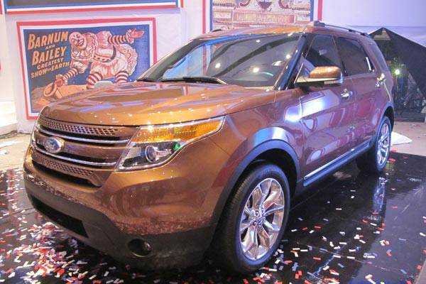 Ford Group Philippines shows off new Explorer