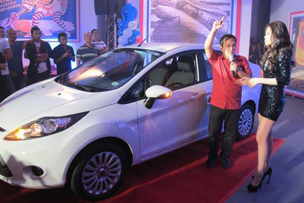 Ford sales consultant wins Fiesta
