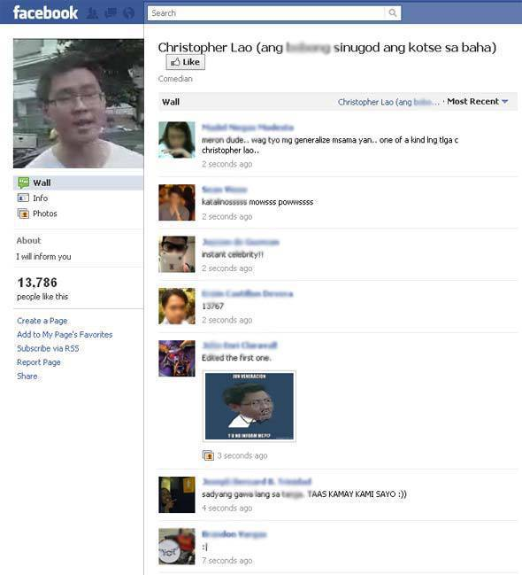Christopher Lao on Facebook