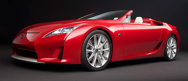 TopGear.com.ph Philippine Car News - Lexus to reportedly come up with LFA Roadster