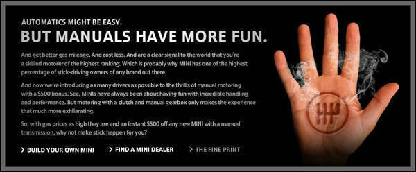 TopGear.com.ph Philippine Car News - Mini USA gives $500 discount on its manual transmission models