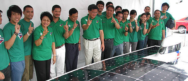 TopGear.com.ph Philippine Car News - DLSU unveils its contender for the 2011 World Solar Challenge