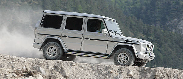TopGear.com.ph Philippine Car News - Mercedes-Benz G-Wagens no match for Australian Outback