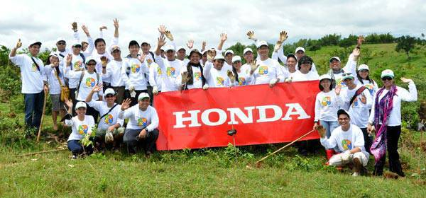 Honda tree-planting activity