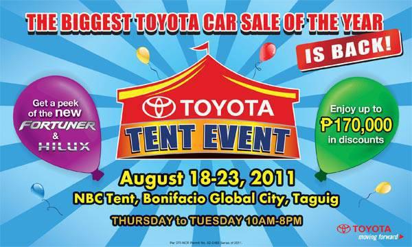 Toyota Tent Event
