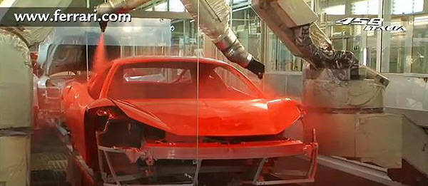 TopGear.com.ph Philippine Car News - Ferrari shows how the 458 Italia is painted