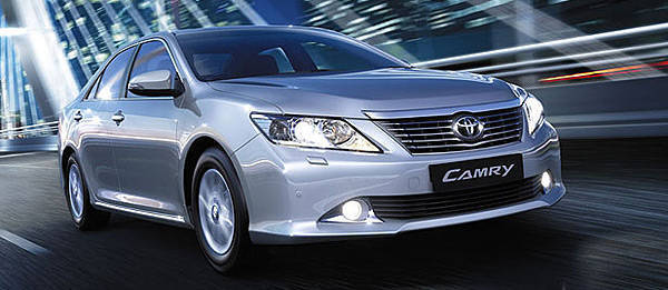 TopGear.com.ph Philippine Car News - Toyota Ukraine reveals a different look for Camry