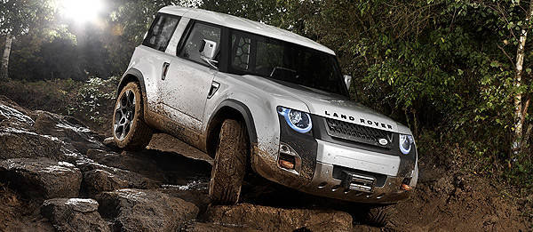 TopGear.com.ph Philippine Car News - Frankfurt preview: Land Rover Defender Concept