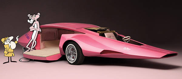 TopGear.com.ph Philippine Car News - Pink Panther car to be auctioned off