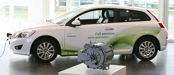 TopGear.com.ph Philippine Car News - Volvo to develop electric cars with Siemens