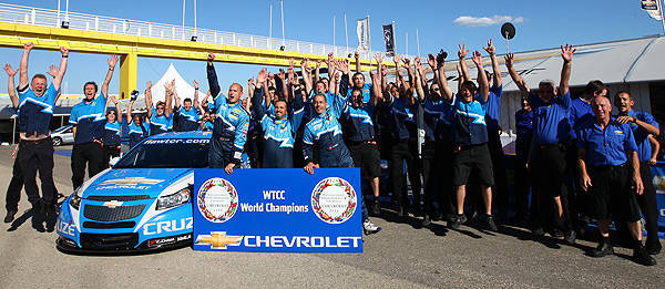TopGear.com.ph Philippine Car News - Chevrolet Cruze bags second WTCC championship