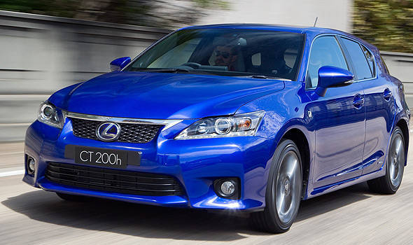 TopGear.com.ph Philippine Car News - Frankfurt preview: Lexus GS 450h hybrid and CT 200h F-Sport