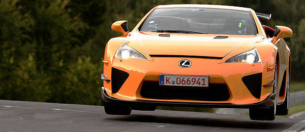 TopGear.com.ph Philippine Car News - Lexus LFA Nürburgring Package sets Nürburgring record