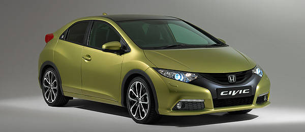 TopGear.com.ph Philippine Car News - Frankfurt 2011: Euro-exclusive all-new Honda Civic