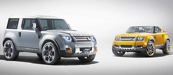 TopGear.com.ph Philippine Car News - Frankfurt 2011: Land Rover unveils two Defender concept vehicles