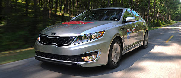 TopGear.com.ph Philippine Car News - Kia Optima Hybrid sets Guinness World Record