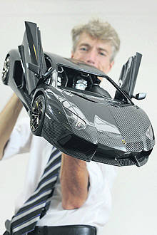 TopGear.com.ph Philippine Car News - Scale-model Lamborghini Aventador costs more than the real one