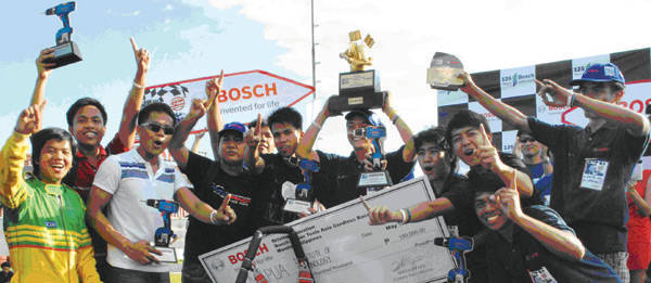 TopGear.com.ph Philippine Car News - Mapua, UP teams get ready for Bosch Power Tools Asia Cordless Race 2011 Finals