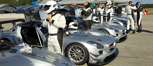 TopGear.com.ph Philippine Car News - SLS AMG GT3 is now part of AMG Driving Academy