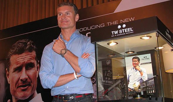TopGear.com.ph Philippine Car News - David Coulthard launches namesake TW Steel watch in the Philippines