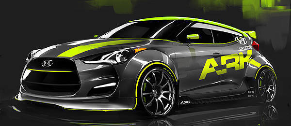 TopGear.com.ph Philippine Car News - Modified, rally-ready Hyundai Veloster to debut at SEMA Show