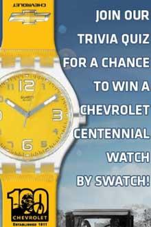 Chevrolet Centennial Swatch