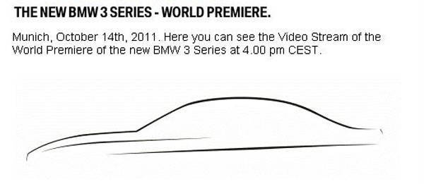 TopGear.com.ph Philippine Car News - BMW to reveal all-new 3-Series on Facebook on October 14