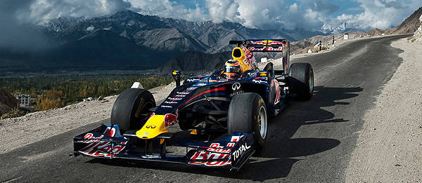 TopGear.com.ph Philippine Car News - Red Bull takes its F1 car to the world's highest drivable road