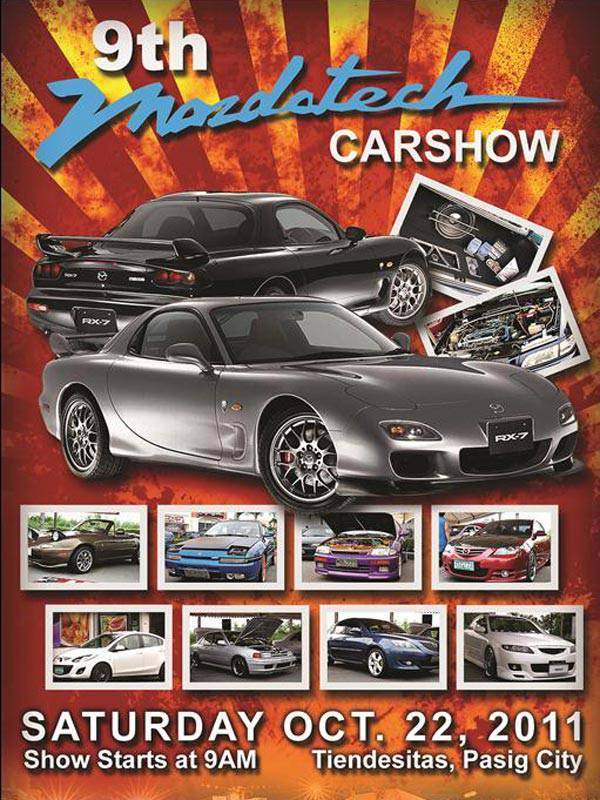9th Mazdatech Car Show
