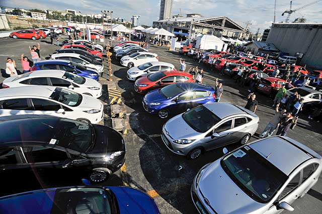Ford Fiesta's first anniversary in the Philippines