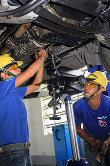 Isuzu, TESDA presents its latest batch of scholars