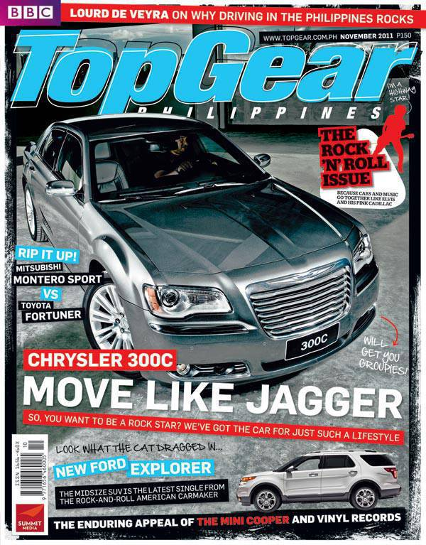 Top Gear Philippines' November 2011 issue