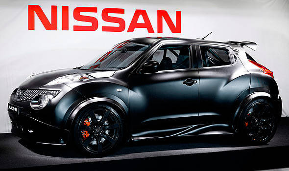 TopGear.com.ph Philippine Car News - Nissan reveals Juke-R in the metal for the first time