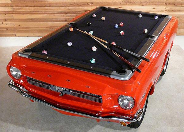 #1 FORD MUSTANG BILLIARDS TABLE