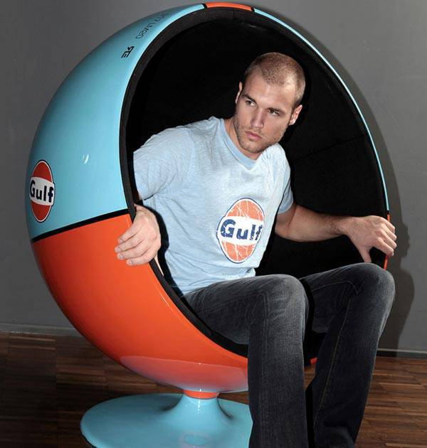 #4 GULF RACING CHAIR