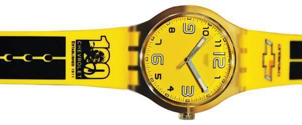 Chevrolet Centennial commemorative watch