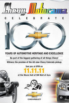 TopGear.com.ph Philippine Car News - Chevrolet Philippines celebrates brand's 100th year