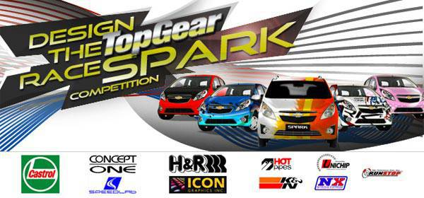 Design the Top Gear Race Spark Competition